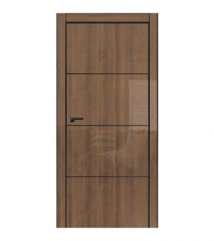 Межкомнатные двери Omega - MetalBox Galaxy Milano walnut WD 627